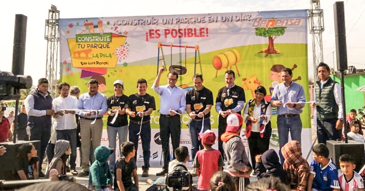 Bepensa participa en la creación del Parque Arroyo Hondo en La Pila, SLP