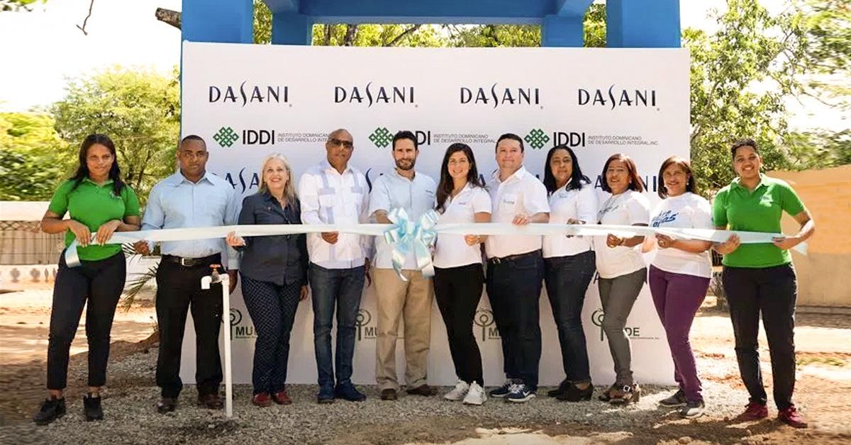 Bepensa Dominicana habilita agua potable en la comunidad de Reparadero, Yamasá