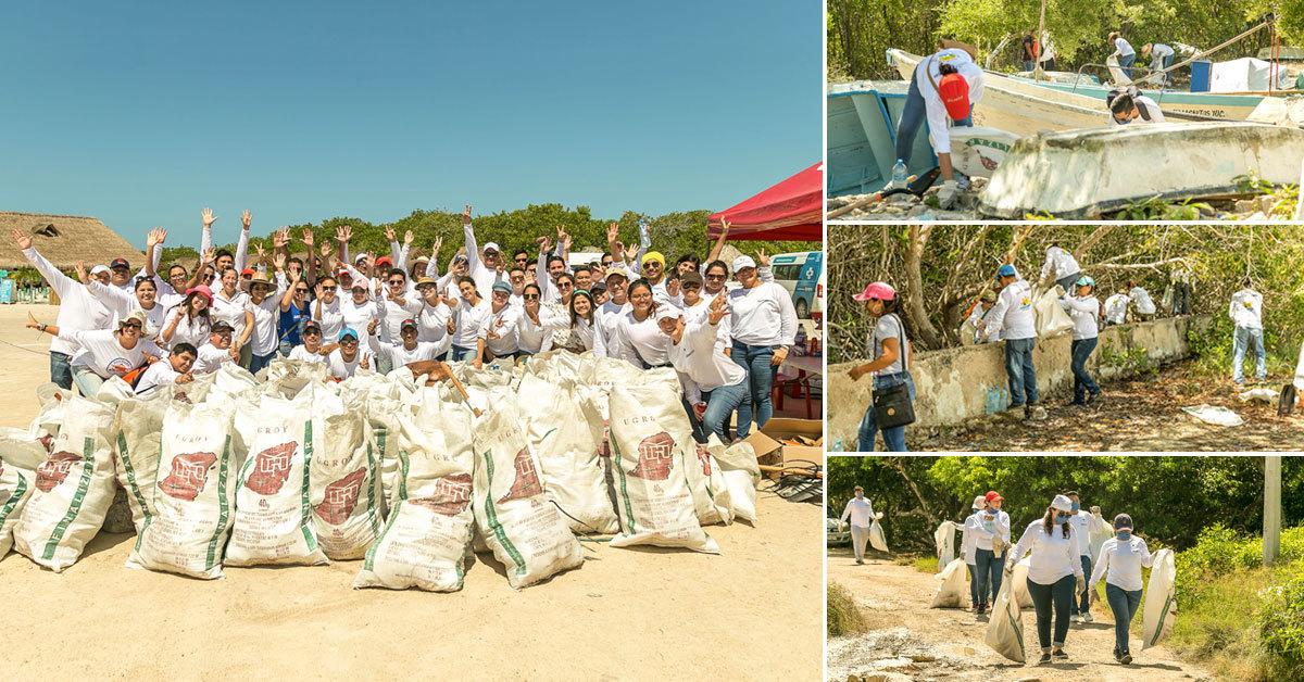 Acciones de Bepensa y Fundación Bepensa en la reserva de Río Lagartos