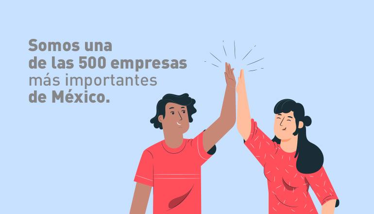 Bepensa sube al lugar 109 entre las 500 Empresas más Importantes de México