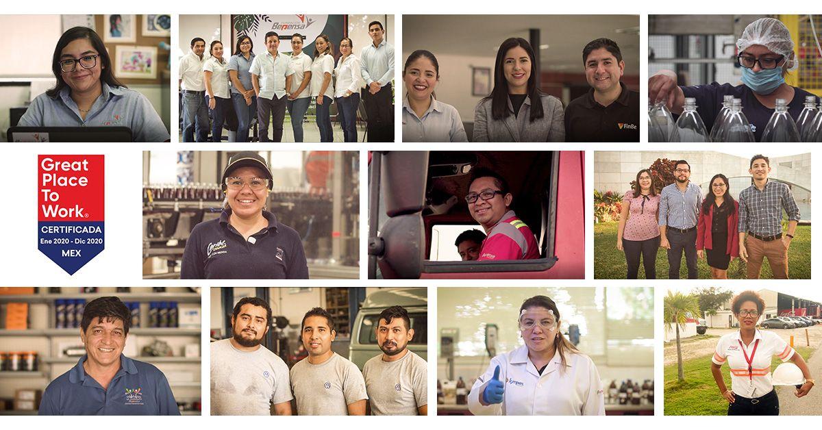 Bepensa ganó el lugar 14 en el ranking de Inclusión y Diversidad de GPTW para empresas de más de 5 mil colaboradores